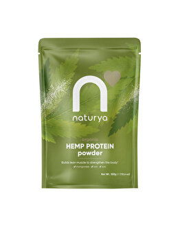 Pulbere Proteine de Canepa 300g Ecologic/BIO de la Naturya