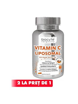 Supliment alimentar Biocyte Vitamine C Lipozomala, 30 capsule de la BYOCYTE
