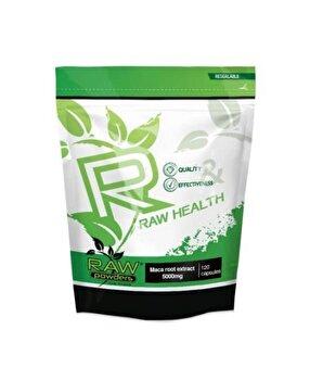 Raw Powders Maca Radacina Extract 10:1 5000mg 120 Capsule de la Raw Powders