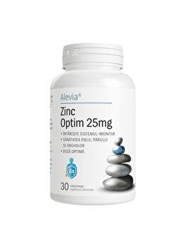 Zinc Optim Alevia 25 mg 30 capsule de la Alevia