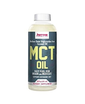 Jarrow MCT OIL 591ml, Ulei 100% pur de MCT OIL Jarrow Formulas