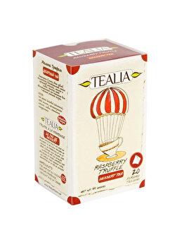 Ceai Tealia by Secom Raspberry Truffle 20 plicuri piramida x 2g de la Tealia by Secom