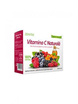 Supliment alimentar pentru stimularea imunități Zenyth Vitamina C Naturala 28 plicuri x 5g Cutie 28 plicuri x 5g de la Zenyth