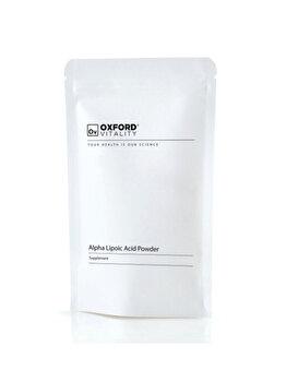 Supliment alimentar Oxford Vitality Acid Alfa Lipoic Pulbere, 500 g de la Oxford Vitality