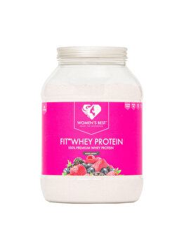 Supliment sportiv Women's Best Fit Whey Mixed Berry, 1000 g Women's Best