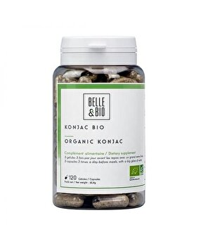 Belle&Bio Konjac Bio (Glucomannan Bio) 120 capsule