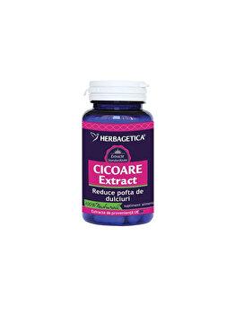 Supliment alimentar Herbagetica Cicoare extract 60 capsule de la Herbagetica