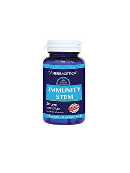 Supliment alimentar Herbagetica Immunity + Stem 30 capsule de la Herbagetica