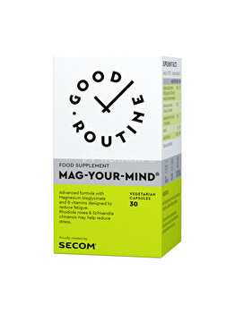 Supliment alimentar Good Routine by Secom Mag Your Mind 30 capsule Good Routine