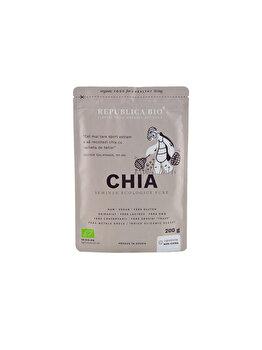 Chia, seminte ecologice pure Republica BIO, 200 g de la Republica Bio