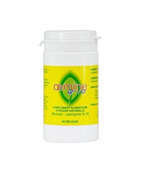 Oemine Coenzima Q10 naturala 60 capsule Oemine Franta