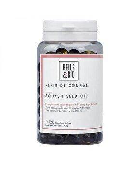 Belle&Bio Ulei seminte dovleac 120 capsule de la Belle&Bio