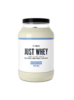 Proteine Just Whey Gymbeam ciocolata alba - cocos GymBeam