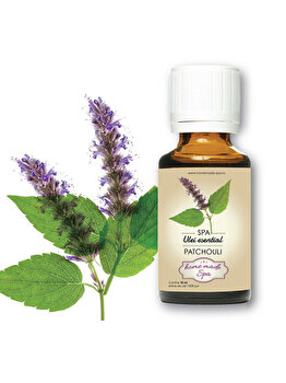 Ulei esential de Patchouli (Pogostemon Cablin) 10 ml, Homemade Spa de la Homemade Spa