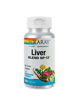 Supliment alimentar Solaray by Secom Liver Blend 100 capsule vegetale de la Solaray by Secom