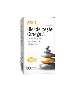 Ulei de peste Omega 3 Alevia 30 comprimate de la Alevia