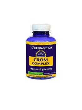 Supliment alimentar Herbagetica Crom complex 60 capsule de la Herbagetica