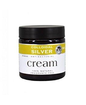 Colloidal Crema Argint Coloidal natural cu ulei de cocos 100 ml de la Colloidal