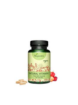 Vegavero Vitamina C Organica 60 capsule Vegavero