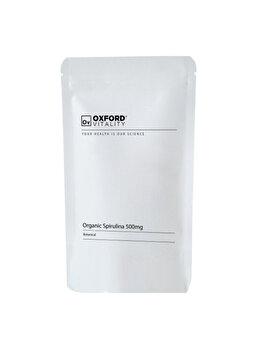 Supliment alimentar Oxford Vitality Spirulina organica 500 mg, 500 tablete de la Oxford Vitality