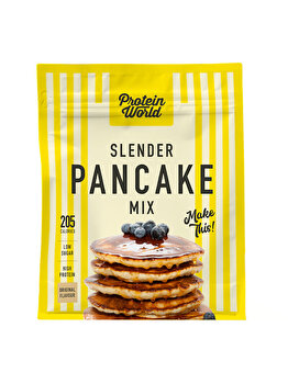 Amestec pentru clatite Protein World Food & Snacks Slender Pancakes, High protein, Low sugar, 500 g