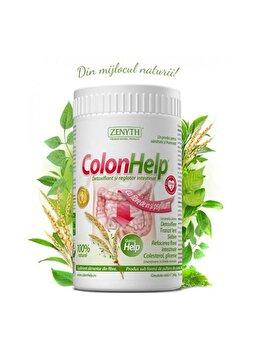 Supliment alimentar pentru detoxifiere și slăbire Zenyth ColonHelp flacon 240 grame de la Zenyth