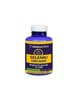 Supliment alimentar Herbagetica Seleniu Organic 30 capsule de la Herbagetica