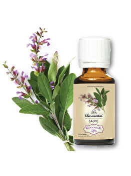 Ulei esential de Salvie (Salvia Officinalis) 10 ml, Homemade Spa de la Homemade Spa