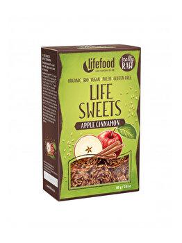 Rulouri crispy Lifefood Life Sweets raw mar si scortisoara bio fara gluten, 80 g de la Lifefood