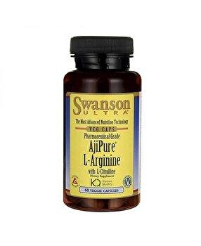 Swanson L-Arginine / L-Citrulline - 60 Capsule Swanson