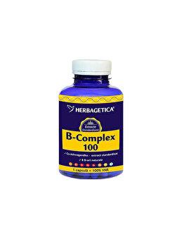 Supliment alimentar Herbagetica B Complex 100 120 capsule de la Herbagetica