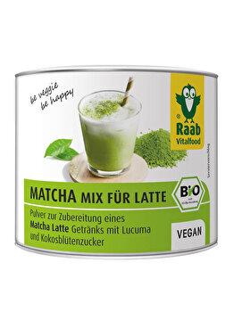 Matcha mix latte Raab bio, 90 g de la Raab