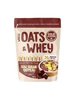 GOLDNUTRITION OATS&WHEY CHOCOLATE 400 G de la GoldNutrition