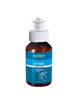 Supliment alimentar Dacoderm Gel de maini igienizant cu Argint coloidal 100ml (NOU) de la Dacoderm