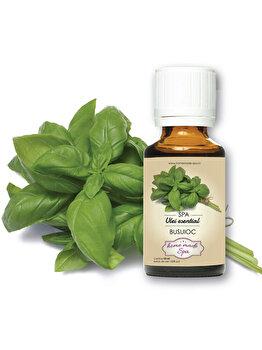Ulei esential de Busuioc (Ocimum Basilicum) 10 ml, Homemade Spa de la Homemade Spa
