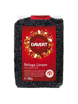 Linte neagra beluga Davert bio, 500 g de la Davert