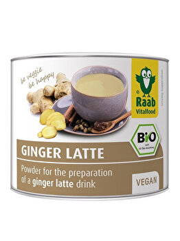 Ghimbir latte bautura Raab instant bio, 70 g de la Raab