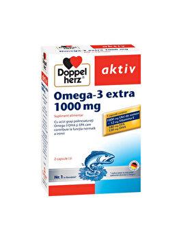 Supliment alimentar Doppelherz Aktiv Omega-3 Extra 1000 mg 60 capsule de la Doppelherz