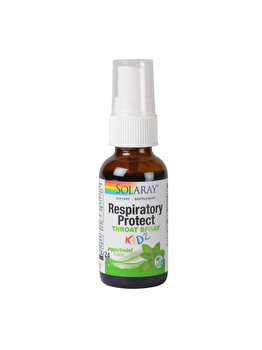 Supliment alimentar Solaray by Secom Respiratory Protect Throat Spray KIDZ 30ml de la Solaray by Secom