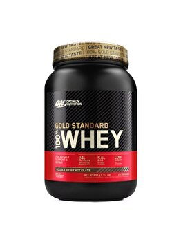 100% Proteina din zer Optimum Nutrition Whey Gold Standard Double Rich Chocolate 908g de la Optimum Nutrition