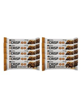 Batoane proteice Optimum Nutrition Protein Crisp Bar Peanut Butter 10x65g de la Optimum Nutrition