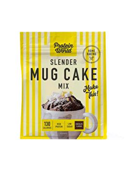 Amestec pentru prajituri Protein World Food & Snacks Mug Cake, Low sugar, 500 g de la Protein World