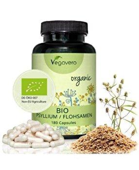 Vegavero Psyllium Organic 180 capsule Vegavero