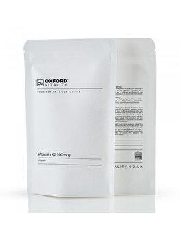 Supliment alimentar Oxford Vitality Vitamina K2 Extra 500 mcg, 120 tablete de la Oxford Vitality