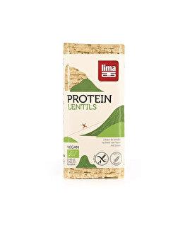 Rondele proteice din linte expandata Lima bio fara gluten, 100 g de la Lima