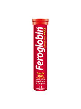 Supliment alimentar Vitabiotics Feroglobin Fizz 20 tablete efervescente aroma portocale de la Vitabiotics