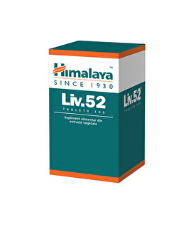 Supliment alimentar Himalaya Liv.52 100 tablete de la Himalaya