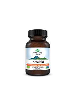 Organic India Amalaki Vitamina C & Antioxidanti Naturali 60 caps de la ORGANIC INDIA