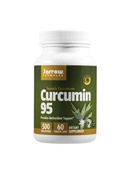 Supliment alimentar Jarrow Formulas by Secom Curcumin 95 500mg 60 capsule vegetale de la Jarrow Formulas by Secom