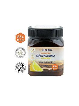 Miere de Manuka poliflora cu lamaie MGO 85+ 375 g naturala de la MANUKA LAB